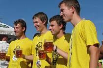 Pivní maraton ve Slavkově.