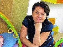 Předsedkyně představenstva Mateřského centra Radost ve Vyškově Iveta Chaloupková.