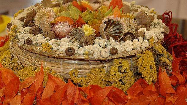 Na dvě stě padesát vzorků jablek a sedmdesát ukázek zeleniny bylo k vidění na šesté okresní výstavě zahrádkářů, která se v minulých dnech konala ve Společenském centru Bonaparte ve Slavkově u Brna.