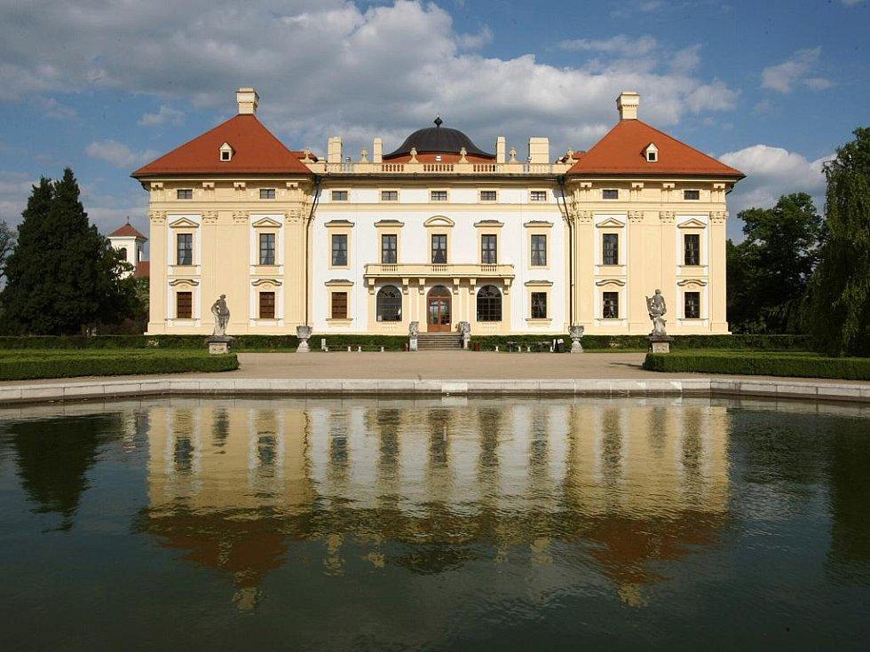 Zámek Slavkov u Brna.