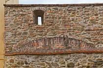 Městské hradby ve Vyškově.