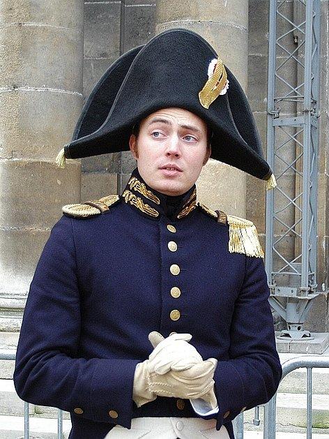 Jakub Samek působí ve Středoevropské napoleonské společnosti jako náčelník štábu francouzské armády.