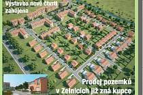 Výstavba nových bytů ve Slavkově u Brna