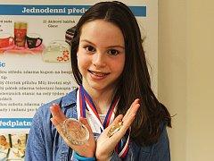 Jana Klenková z Vyškova se tanci věnuje téměř šest let. Za tu dobu stihla uspět i na mezinárodním tanečním poli.