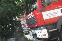 Vyškovského prodavače přejelo ve dvoře v Pivovarské ulici jeho vlastní auto.