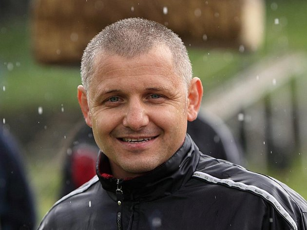 Trenér ragbistů Dušan Lodes.