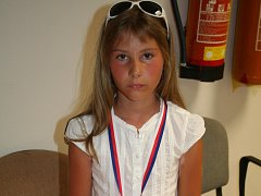 Osmiletá Veronika Konšelová z Lulče sbírá medaile z gymnastických i hasičských závodů, vyhrála třeba v Brně.