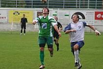 Fotbalisté Framozu proti Vracovu.
