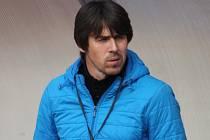 Trenér fotbalistů MFK Vyškov Jan Trousil.