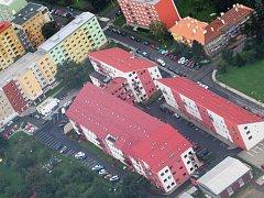 Bytový komplex na Smetanově nábřeží. Ilustrační foto