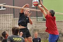 Volejbalový turnaj v Holubicích.