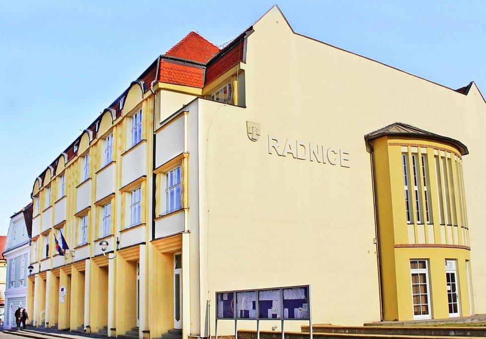 Bučovický městský úřad. Foto: Město Bučovice