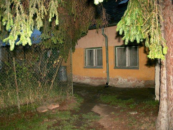 Dům vPartyzánské ulici vIvanovicích na Hané, kde vpondělí došlo ktragédii.
