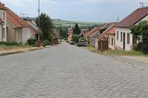 Tománkova ulice v Rousínově. Ilustrační foto.
