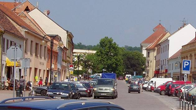Slavkovské náměstí.