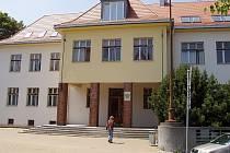Budova okresního soudu ve Vyškově.