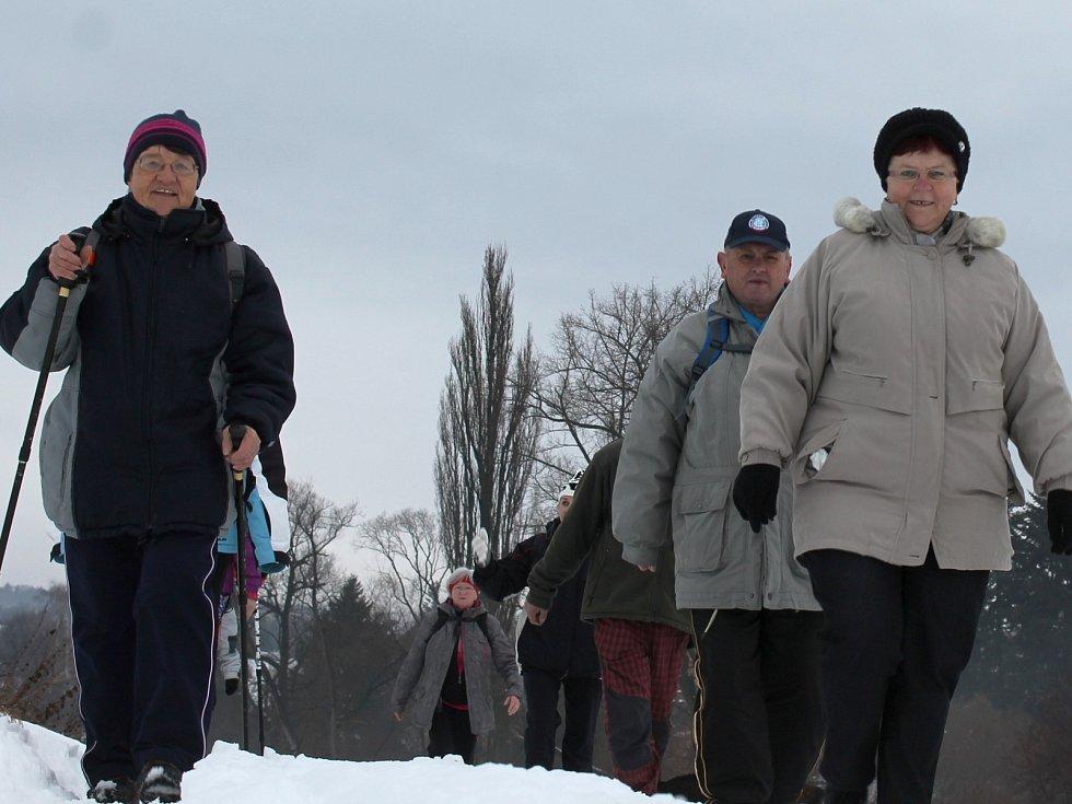 Členové vyškovského odboru Klubu českých turistů vyrazili na vycházku z Ježkovic do Drnovic. Jak se shodli, šlo spíš o oddychovou trasu. Jsou totiž zvyklí i na podstatně delší túry.