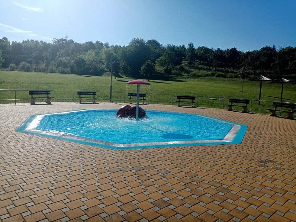 Letní koupaliště Bučovice.