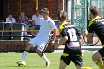Ondřej Vintr se do MFK Vyškov vrátil přípravným zápasem v Nových Sadech.