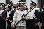 Francouzská porepubliková armáda jde do boje. Napoleon dumá, jak přelstít dva císaře