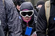 Vytrvalkyně vyškovského klubu Spartan Training Group Iva Rozehnalová.