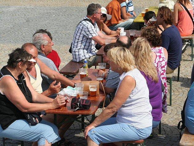 Sklepy vyškovského pivovaru oslavily své první století.