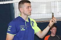 Antonín Srna, předseda Klubu stolního tenisu Dragon Vyškov