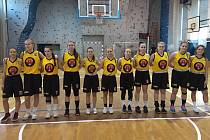 Nováček druhé basketbalové ligy U19, družstvo juniorek BK Vyškov.