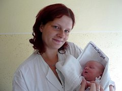 Vanessa Landsmannová s maminkou Kateřinou Zmeškalovou, 48 cm, 3,3 kg, 6. července 2010, Vyškov.