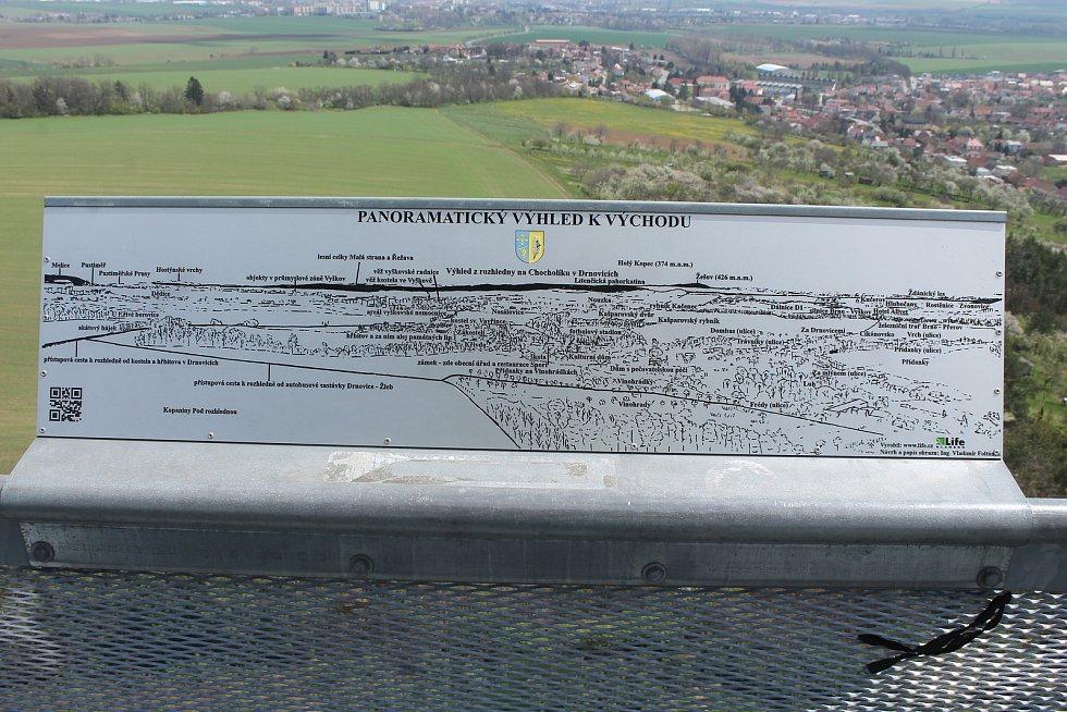 Popis panoramatu.