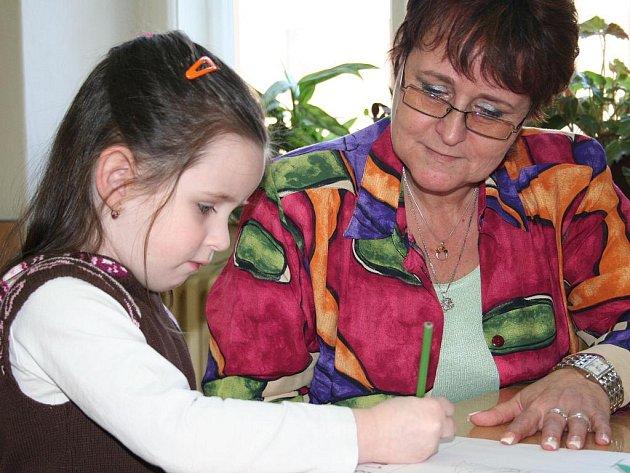 Zápis do prvních tříd ve Vyškově.