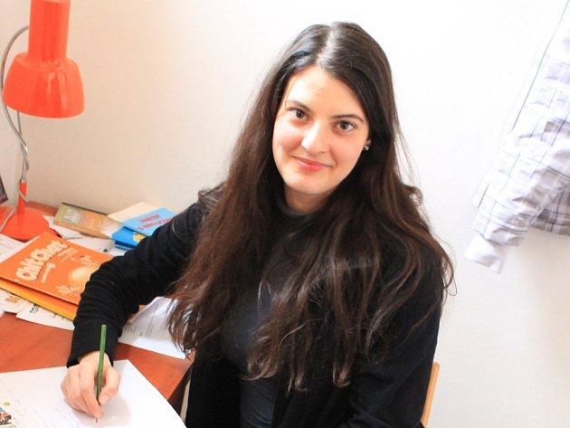 Ruxandra přišla do školy v Prusech na podzim a už nyní jsou výsledky po její práci vidět.