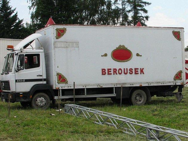 Do Vyškova zavítal známý cirkus Berousek.