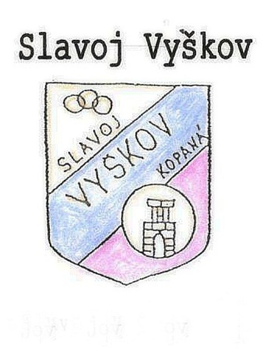 Historické znaky fotbalového Vyškova.