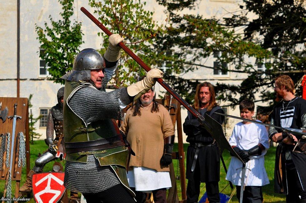 Také loni v září patřila sobota ve Vyškově oslavám Dne památek. Program zaplnil zámeckou zahradu.