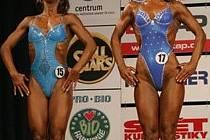 Ludmila Celá (vpravo) skončila na českém mistrovství těsně pod stupni vítězů.