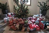 Stromek na radnici loni v prosinci lidé dárky přímo zaplavili.