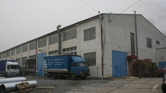 Objekt firmy Moravská vzduchotechnika v Nížkovicích