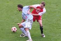 Vyškovští fotbalisté remizovali s Pelhřimovem 2:2.