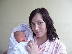 Daniel Železný s maminkou Michaelou, 51 cm, 3,720 kg, 6. prosince 2010, Vyškov