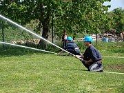 Mladí hasiči z Prus a Boškůvek