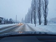 Sněhový příspěvek od čtenáře: Vyskov klasika :)