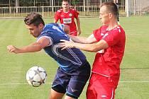 V 1. kole Poháru Fotbalové asociace České republiky prohrála Viktorie Přerov s MFK Vyškov 0:2.