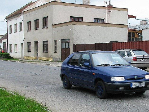 Křečkovská ulice ve Vyškově.