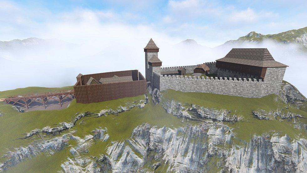 Středověká fáze v období od třináctého do čtrnáctého století.