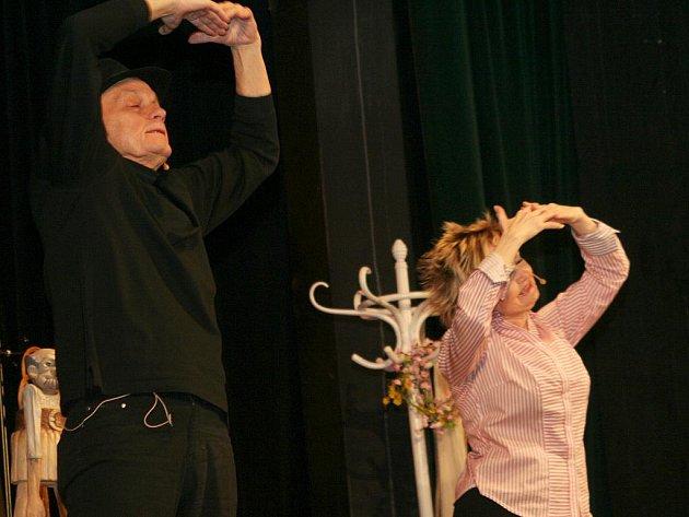 Jan Přeučil  a Eva Hrušková.