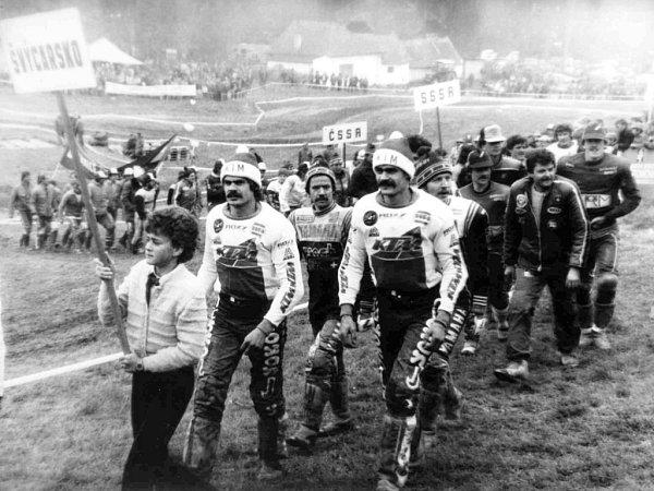 Bučovická trať byla proslavená vČeskoslovensku iza hranicemi. Jezdili tam vynikající závodníci ze socialistických izápadních zemí. Těšil je obrovský zájem diváků.