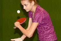 Stolní tenistka Veronika Tušlová.