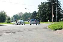 Křižovatku ve vyškovské místní části Dědice předá v pátek město dodavatelské firmě. Ta místo ní postaví kruhový objezd.