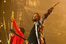 Richard Krajčo se skupinou Kryštof na loňském festivalu Colours of Ostrava. Ve Vyškově měli vystoupit už pátého června, plány zhatila opatření proti virové nákaze.
